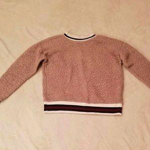 Velvet Pink Long-sleeve Shirt